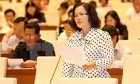 Abgeordneten diskutieren die umstrittenen Bestimmungen des Entwurfs des geänderten Zivilgesetzbuchs