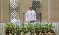 Myanmars Präsident verpflichtet, das Wahlergebnis zu respektieren