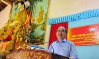 Vorsitzender der Vaterländischen Front Vietnams nimmt am Festtag der Solidarität in Tra Vinh