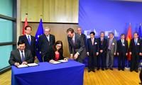 Freihandelsabkommen zwischen Vietnam und der EU wird im Jahr 2018 angewendet