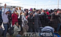 Hunderte afrikanische Flüchtlinge stürmen auf spanische Exklave