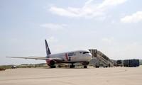182 internationale Charterflüge landen zum Tetfest im Flughafen Cam Ranh in Khanh Hoa