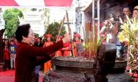 Vize-Staatspräsidentin Nguyen Thi Doan nimmt an der Feier zum Widerstand von Hai Ba Trung teil