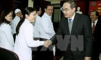 Feier des Tages der vietnamesischen Ärzte im ganzen Land