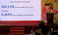 Beiträge der Behörden zum PCI 2015 der Provinz Dong Thap