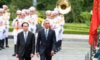 Internationale Medien berichten über Vietnam-Besuch von US-Präsident Obama