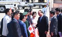 Premierminister Nguyen Xuan Phuc beginnt den Besuch zur Teilnahme am erweiterten G7-Gipfel in Japan