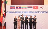 Konferenz der Außenminister der Mekong-Länder und Südkoreas
