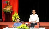 Staatspräsident Tran Dai Quang führt Arbeitstreffen mit der Staatsanwaltschaft