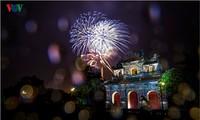 Die Schönheit der Kaiserstadt Hue in der Nacht