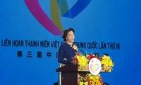 Spitzenpolitiker Vietnams und Chinas nehmen am Festival zwischen Jugendlichen beider Länder teil