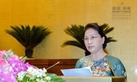 Abschluss der 3. Sitzung des Parlaments der 14. Legislaturperiode