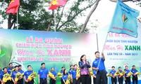 """Ho-Chi-Minh-Stadt beginnt die Kampagne """"Grüner Sommer 2017"""""""