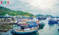 Die Schönheit der Insel Binh Ba