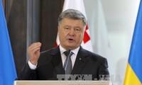 Die Ukraine beharrt auf einen EU- und NATO-Beitritt