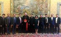 Vietnamesische Delegation besucht Vatikan