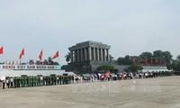 Denken an Präsident Ho Chi Minh zum Unabhängigkeitstag