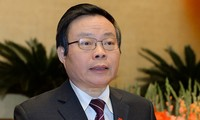 Vize-Parlamentspräsident Phung Quoc Hien trifft Wähler in der Provinz Lai Chau