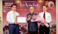 """Preis """"Bui Xuan Phai – Aus Liebe zu Hanoi"""" ehrt die Hanoi-Liebhaber"""