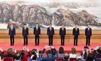 KPCh stellt neue Führung der 19. Legislaturperiode vor