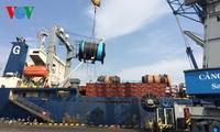 Der Hafen Sai Gon begrüßt das erste Frachtschiff