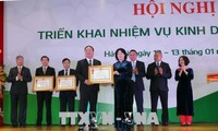 Vize-Staatspräsidentin Dang Thi Ngoc Thinh nimmt an Konferenz der Vietcombank teil