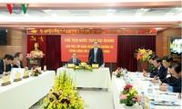 Staatspräsident Tran Dai Quang führt Arbeitstreffen mit dem vietnamesischen Juristenverband