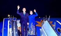 Staatspräsident Tran Dai Quang beendet Besuch in Indien und Bangladesch