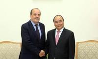 Premierminister Nguyen Xuan Phuc empfängt den chilenischen Botschafter