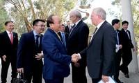 Premierminister Nguyen Xuan Phuc besucht die australische Nationaluniversität