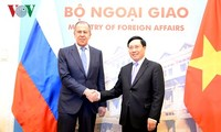 Festigung der umfassenden strategischen Partnerschaft zwischen Vietnam und Russland