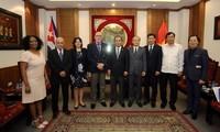 Vietnam und Kuba verstärken Kooperation im Sportbereich