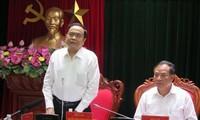 Vorsitzender der Vaterländischen Front Vietnams besucht Provinz Hai Duong