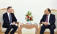 Premierminister empfängt Wirtschaftsminister des deutschen Bundeslandes Rheinland Pfalz