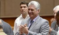 Weltspitzenpolitiker beglückwünschen den neu gewählten  kubanischen Staatspräsidenten