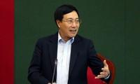 Vize-Premierminister Pham Binh Minh: Provinz Thai Nguyen soll verstärkt Investoren anziehen