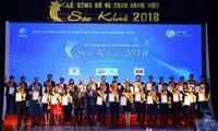73 IT-Produdukte und –Dienstleistungen mit dem Sao Khue-Preis ausgezeichnet