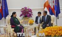 Spitzenpolitiker Kambodschas schätzen die Zusammenarbeit mit Vietnam
