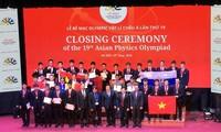 Vietnam gewinnt vier Goldmedaillen in der Asiatischen Physik-Olympiade 2018