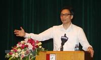 Seminar über das offene Bildungssystem in der Zeit der internationalen Eingliederung