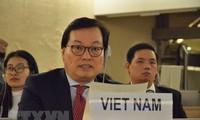 Vietnam betont die Lösung der Spannungen im Gazastreifen durch friedliche Maßnahmen
