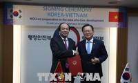 Vietnam informiert sich über das Modell der E-Regierung Südkoreas