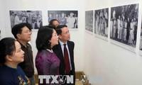 Eröffnung der Fotoausstellung über die patriotische Kampagne