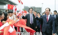 Staatspräsident Tran Dai Quang besucht die japanische Provinz Gunmar