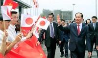 Japans Medien berichten über den Besuch des vietnamesischen Staatspräsidenten