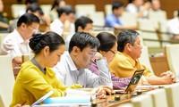 Parlament diskutiert den Gesetzesentwurf über Vermessung und Landkarte