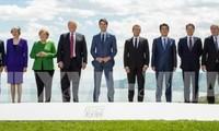 G7-Gipfel gibt gemeinsame Erklärung ab