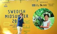 Freundschaftliche Begegnung zwischen Vietnam und Schweden