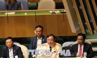 Vietnams Polizei setzt sich für die Aktivitäten der UNO ein