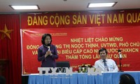 Vize-Staatspräsidentin Dang Thi Ngoc Thinh beendet Besuch in Laos